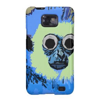 Blue Monkey with the Googly eyes Samsung Galaxy SII Case