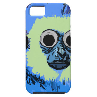 Blue Monkey with the Googly eyes iPhone 5 Cover