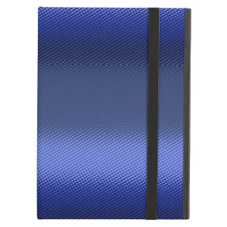 Blue monochromatic frosted iPad air cover