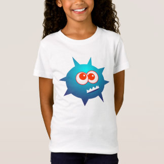 Blue monster animated creature T-Shirt