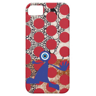 Blue Monster Attack with red dots! iPhone SE/5/5s Case