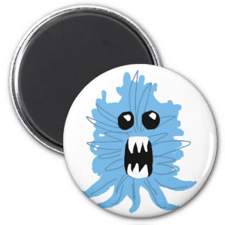 Blue Monster Baby Shirt Magnet