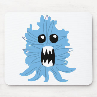 Blue Monster Baby Shirt Mouse Pad