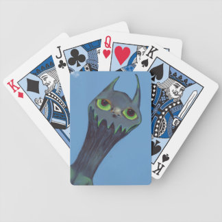 Blue Monster Bicycle Card Deck