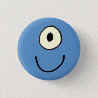 Blue Monster Button