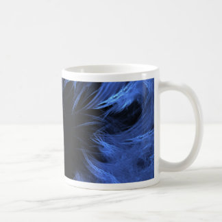 blue monster fractal coffee mug