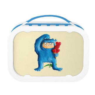 Blue Monster Ice Cream Lunch Box