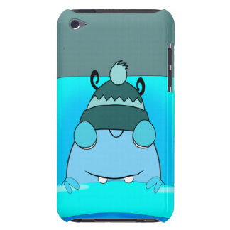 Blue Monster In Bed Sleeping iPod Touch Case