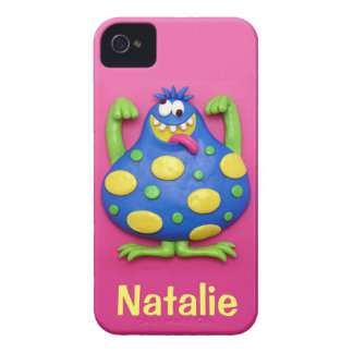 Blue Monster iPhone 4 Case-Mate Case