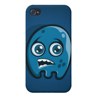 Blue Monster iPhone Case iPhone 4/4S Cases
