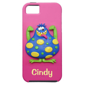 Blue Monster iPhone SE/5/5s Case