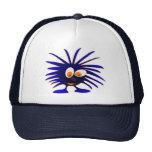 Blue monster mesh hat