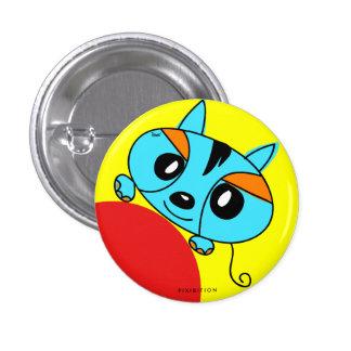 Blue Monster Pet Button