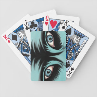 Blue Monster Playing Cards
