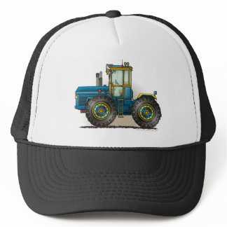 Blue Monster Tractor Hats