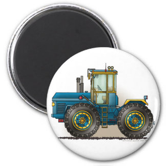 Blue Monster Tractor Magnets