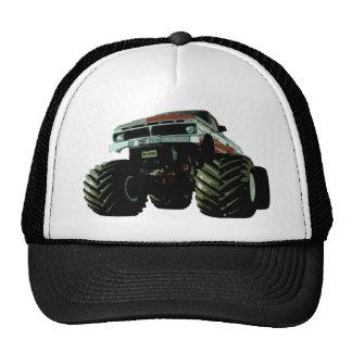 Blue Monster Truck Trucker Hats