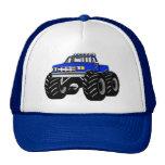BLUE MONSTER TRUCK MESH HAT