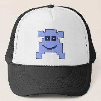 blue monster trucker hat