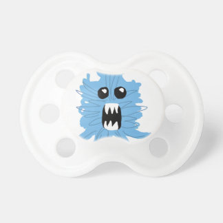 Blue Monster Wrapping Paper Pacifier