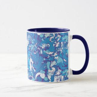 Blue Monsters Mug