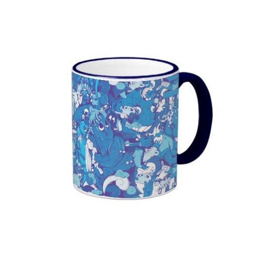 Blue Monsters Coffee Mug