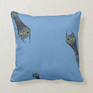 Blue Monsters Pillow