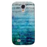 Blue Mood Music Galaxy S4 Cases
