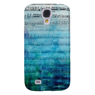 Blue Mood Music Galaxy S4 Cover