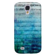 Blue Mood Music Samsung Galaxy S4 Cases