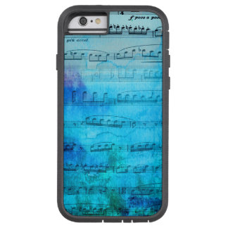 Blue Mood Music Watercolor Phone case