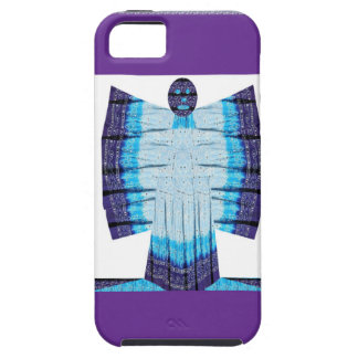 Blue Moon Angel Butterfly made of Cotton Fabric 99 iPhone 5 Covers