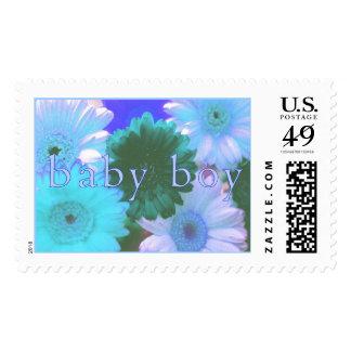 Blue Moon Baby Boy Stamp