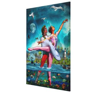 Blue Moon Ballet A Complete Fiction Canvas Print