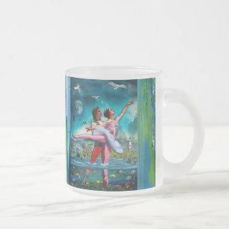 Blue Moon Ballet A Complete Fiction Frosted Glass Coffee Mug