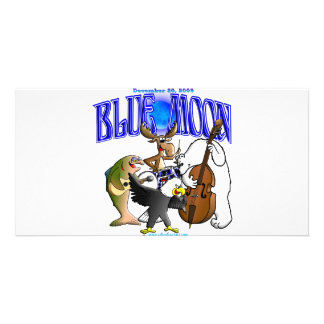 BLUE_MOON_BAND PERSONALIZED PHOTO CARD