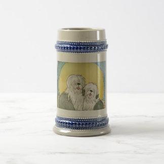 Blue Moon Beer Stein