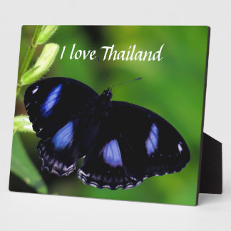 Blue Moon Butterfly Great Eggfly Plaque