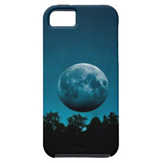 Blue Moon iPhone 5 Cover