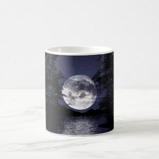 Blue Moon Classic White Coffee Mug