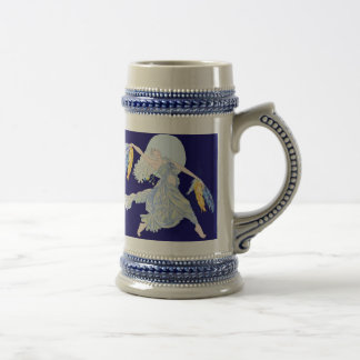 Blue Moon Dancer Beer Stein