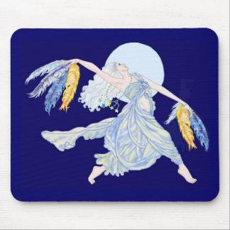 Blue Moon Dancer Mouse Pad