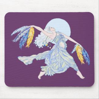 Blue Moon Dancer Tee Mouse Pad