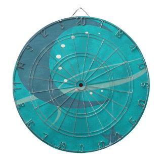 Blue Moon Dartboard With Darts