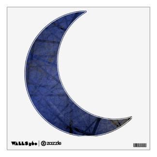 Blue Moon Decal-001 Wall Sticker