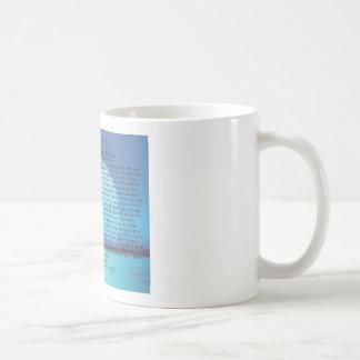 Blue Moon=Desiderata Coffee Mug=Daily Inspiration Classic White Coffee Mug