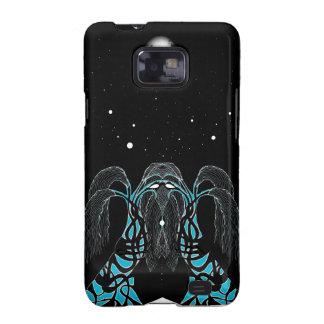 Blue moon dream shaman design galaxy s2 cover