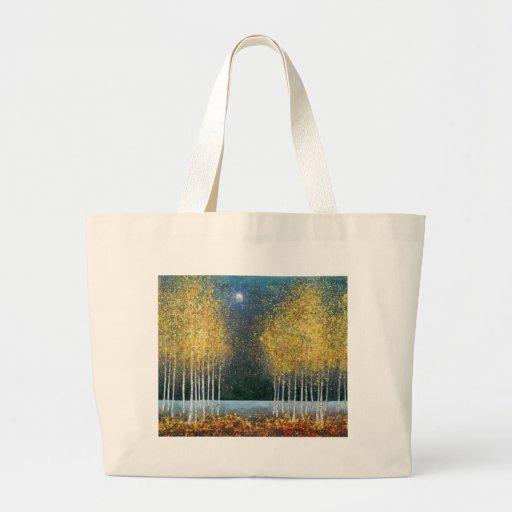 Blue Moon Golden Grove Tote Bag