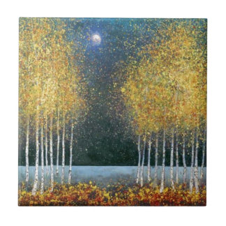 Blue Moon Golden Grove Small Square Tile