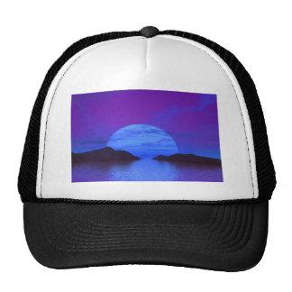 Blue moon gorras